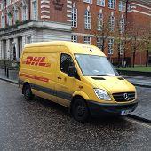 DHL Delivery Van