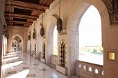 Sultan Qaboos Grand Mosque external corridor