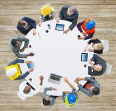 Group of Business People in a Meeting