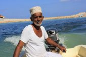 Omani Fisherman at Work