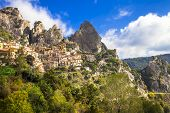 Castelmezzano -mountain village. Italy,  Basilicata