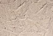 pic of aeration  - Autoclaved aerated concrete closeup in sunny day - JPG