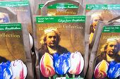 Bulb bags with the portrait of the painter Rembrandt van Rijn.