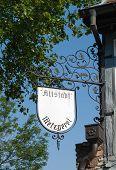 German sign butchery
