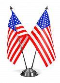 USA - Miniature Flags.