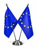 European Union - Miniature Flags.