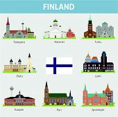 Cities in Finland