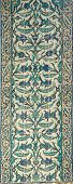 stock photo of harem  - Tiled mosaic wall in the Harem in Topkapi Palace in Istanbul Turkey - JPG