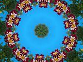 Dwarf Dahlia Wreath