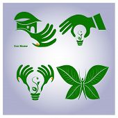 Vector Set Of Ecology Icons