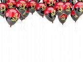 Balloon Frame With Flag Of Angola