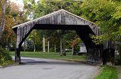 Covered bridge in Massachusetts