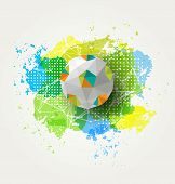 Abstract colorful ball