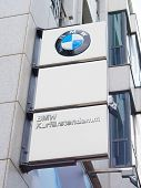 Bmw Logo In Berlin