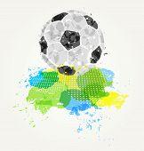 Abstract colorful ball