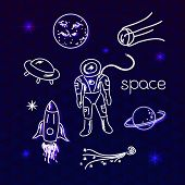 Space vector objects