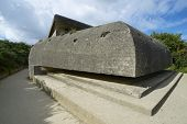 Observation bunker, Battery of Longues sur Mer, Normandy, France