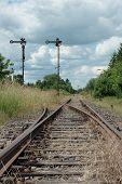 deserted railway