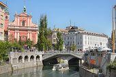 Capital city of Slovenia - Ljubljana