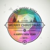 foto of merry chrismas  - Colorful poster - JPG