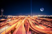 foto of horizon  - Las Vegas at Night - JPG