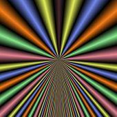 Neon rays