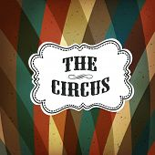 picture of rhombus  - Circus Abstract Poster with Colored Rhombus - JPG