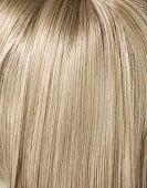 stock photo of hair streaks  - Blond hair - JPG