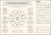 picture of more info  - Three D Printing infographic template and elements - JPG