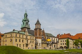 image of stanislaus church  - Royal Archcathedral Basilica of Saints Stanislaus and Wenceslaus on the Wawel Hill - JPG