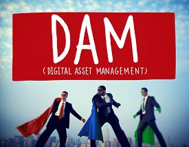 picture of asset  - DAM Digital Asset Management Organization Concept - JPG
