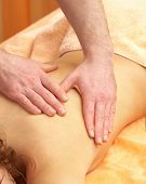 Back massage. The Weakening procedure...