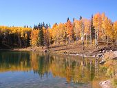Color At Glacier Lake
