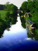 Oxford Canal Mosaic