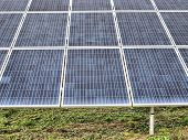 Fotovoltaic panels clos-up