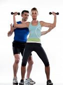 image of personal trainer  - couple - JPG