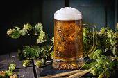 Mug Of Lager Beer poster