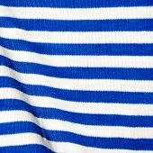 Material In White And Blue