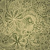 Vintage floral seamless pattern in vector