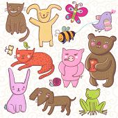 Постер, плакат: Животные