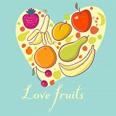 Постер, плакат: Плоды сердце