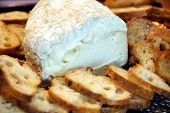 Soft Cheese And Baguette