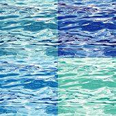 Seamless Water Surface Pattern Variations, raster version