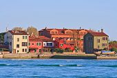 residence zone in Lido Island Venice Italy