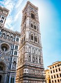 Famous Tower In Florence Campanile Di Giotto poster