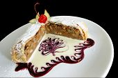 Pastry With Cherry