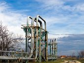 Natural Gas Giant Pipes