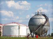Tanques de armazenamento de gás