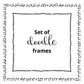 Seasonal Ornaments. Doodle Patterns. Decorative Design Elements. Ribbon, Border, Divider, Pattern, S poster