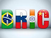 Letras de países BRIC